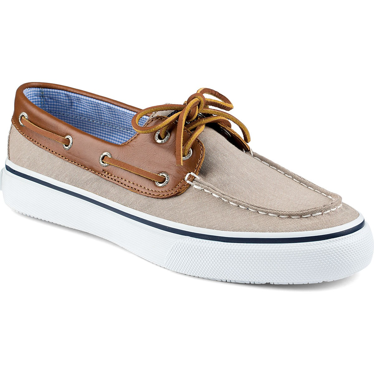 Sperry Men S Bahama  Eye Jersey Boat Shoes